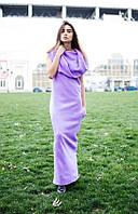 Платье женское теплое с хомутом и карманами, фото 1