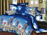 Комплект постельного белья ТЕП Resrline 3D (Синий)