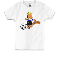 Детская футболка Бобер Динамо