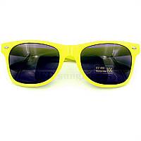 Очки солнцезащитные Wayfarer Ray Ban стиль желтые