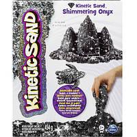 Песок для детского творчества - KINETIC SAND METALLIC (черный, 454 г). Арт. 71408On