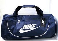 Спортивная сумка бочонок Nike синяя
