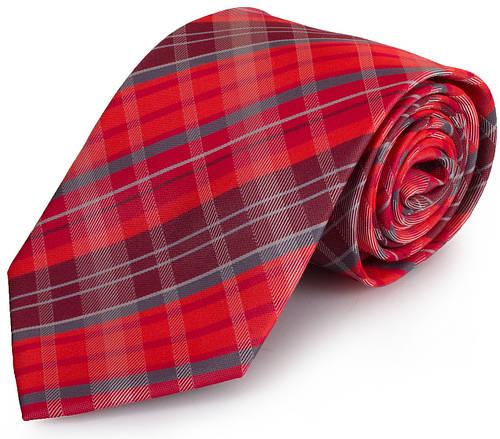 Стильный мужской широкий галстук SCHONAU & HOUCKEN (ШЕНАУ & ХОЙКЕН) FAREPS-83  розовый