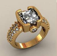 Восхитительный мужской золотой перстень 585* пробы