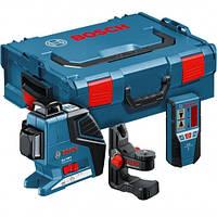 Линейный лазерный нивелир Bosch GLL 3-50 + BM1 + LR2 + L-BOXX, 0601063803