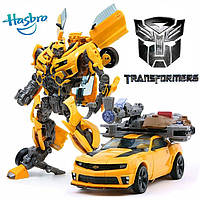 Трансформер 2 в 1 Бамблби 25 см оружие, свет, звук Transformers: Dark of the Moon MechTech Leader Bumblebee