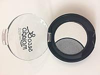 Тени для глаз № 07 серый - белый Seco&mojado Duo (Deliplus)