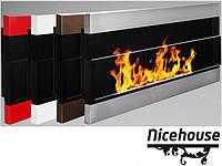 Биокамин Nice-House H-Line 90x40 см, с стеклом