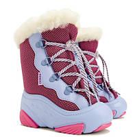 Сноубутсы дутики для девочки DEMAR.SNOW MAR розовые, 20-25