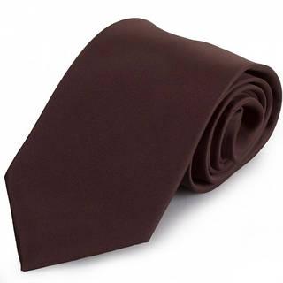 Привлекательный мужской широкий галстук SCHONAU & HOUCKEN (ШЕНАУ & ХОЙКЕН) FAREPS-100 коричневый