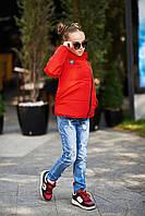 """Модная куртка на девочку подростка """"Леди"""" осень-зима"""