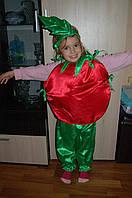 Карнавальный костюм Помидор ,Помидорчик детский