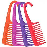 Beter VIVA Гребень для кучерявых волос с ручкой Sweet Hair Comb, 22.5 см, в блистере