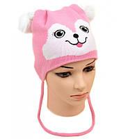Стильная шапка для девочек