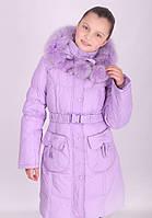 Пальто зимнее для девочки Donilo, наполнитель-пух, 116, 122, 128, 134, 140
