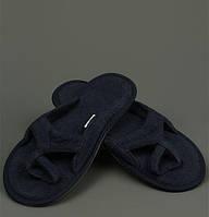 Тапочки  MEYZER от Hamam синие размер 38-39