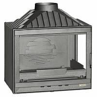 Топка каминная LAUDEL 700 COMPACT с правым стеклом - 14 кВт