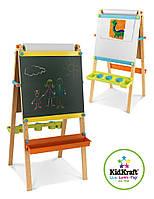 Детский деревянный двусторонний мольберт Kidkraft 62026