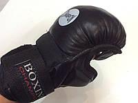 Перчатки для единоборств, рукопашного боя (кожа) для юниоров Boxing