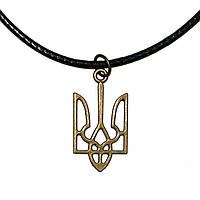 Значок Герб Украины (под бронзу).