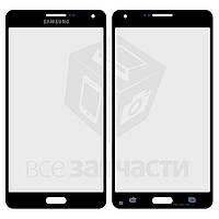 Стекло корпуса для мобильных телефонов Samsung A700F Galaxy A7, A700H Galaxy A7, черное