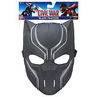 Мстители Марвел маска Черной пантеры. Оригинал Hasbro