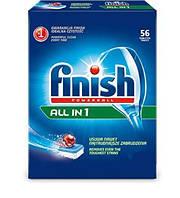 Таблетки для посудомойки Finish ALL IN 1 56 шт