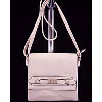 Стильная женская сумка 6385 Бежевый Клатч