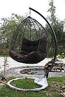 Качеля, кресло, кокон подвесной для дома и сада Шоко Хаос Нюська