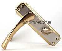 Дверные межкомнатные ручки Ozkanlar SERCE A/S 62mm W/C