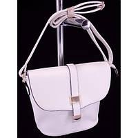 Стильная женская сумка 1659 Белый Клатч