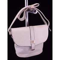 Стильная женская сумка 1659 Светло Серый Клатч