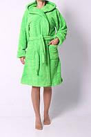 Качественный женский махровый халат. Размер: 42-50