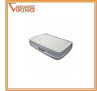 Кровать надувная Intex велюровая 191х137х36 см со встроенным насосом