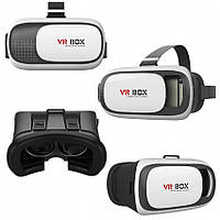 Очки 3D виртуальной реальности Google VR BOX из пластика Cardboard от 3.5 до 6 дюймов