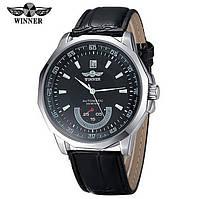 Мужские механические часы Winner Speed Black