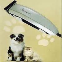 Триммер машинка для стрижки собак и кошек Surker HC-585 (6 насадок)