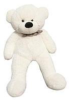 Белый плюшевый медведь 1 метр
