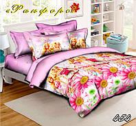 Полуторный детский комплект постельного белья (рисунок Кукла Барби)