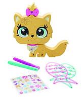 Игровой набор Littlest Pet Shop - Укрась зверушку Желтая кошека