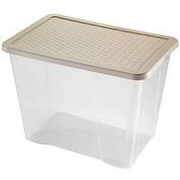 Контейнер для хранения пластиковый 80 л, 60х40х43 см, Heidrun 4685