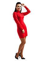 "Тёплое платье ""MIRANDA"" красное"