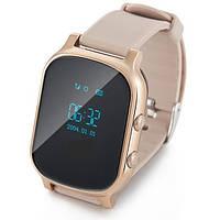 Часы с трекером Smart GPS Watch T58 gold