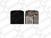 Дисплей для Blackberry Q10 + touchscreen, чёрный, в рамке