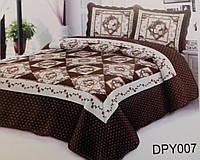 Стеганное покрывало на кровать, пэчворк
