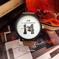 Мужские наручные часы с цифрой JIS 14 коричневые