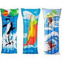 Пляжный надувной матрас 58715 Intex
