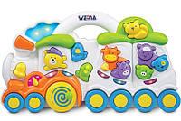 Музыкальная игрушка Паровозик с животными Weina 2106