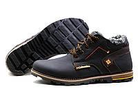 Мужские  зимние кожаные ботинки Columbia Flotar