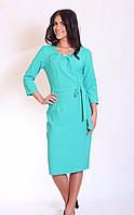 Женское платье в деловом стиле, фото 1